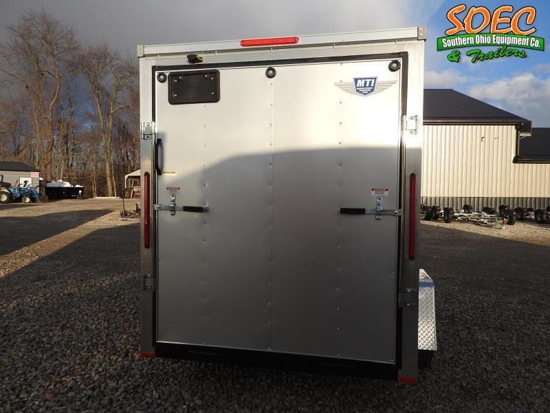 2020 MTI Trailers MDLX 6x10 Enclosed Cargo Trailer