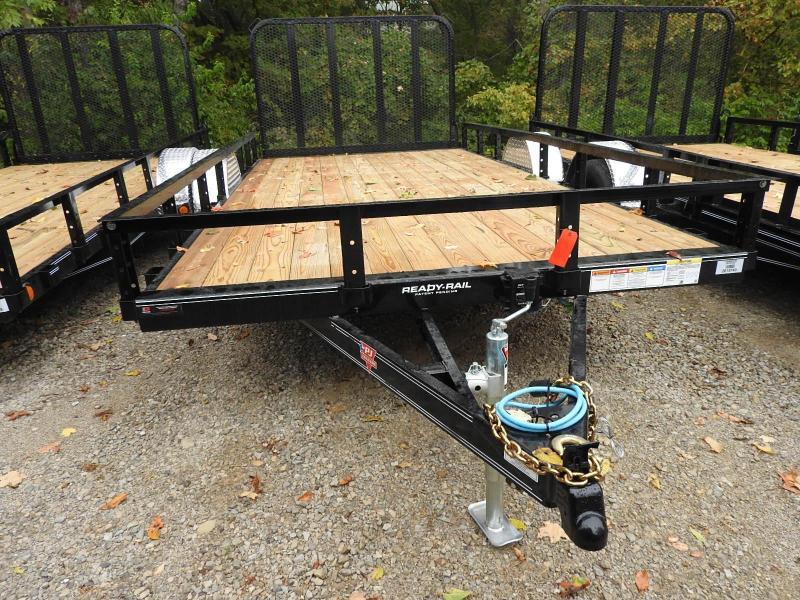 2021 PJ U8 14' x 83' 5.2K Axle Utility Trailer
