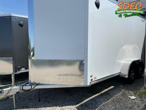 """2022 Legend Trailers 7x17 FTV w/ 6"""" Extra Height Enclosed Cargo Trailer"""