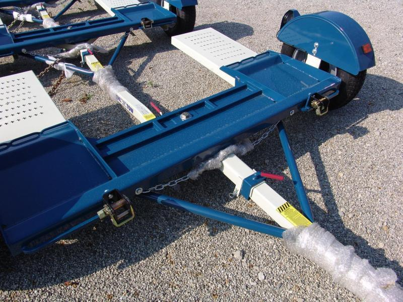 Stehl ST80TD Tow Dolly w/ Surge Brakes LED Lights Radial Tires