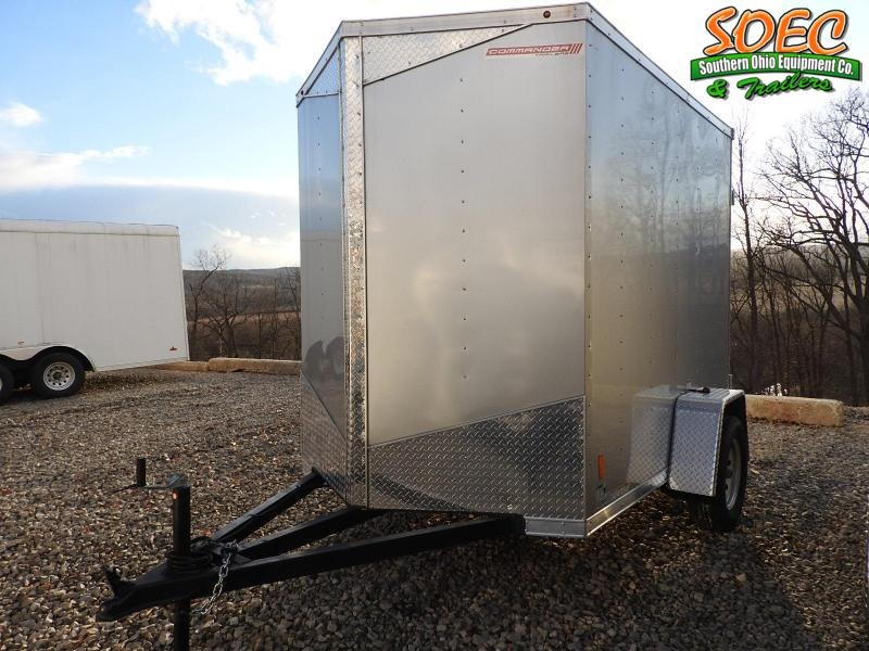"2020 MTI Trailers MDLX 6x8 w/ 6"" Extra Height Enclosed Cargo Trailer"