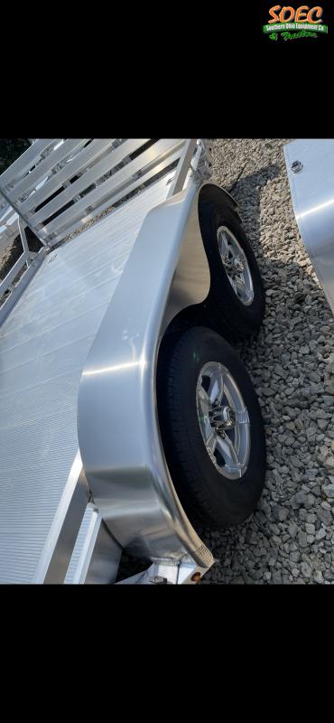 2022 Aluma 7814TA-EL-BT-TR-RTD Utility Trailer