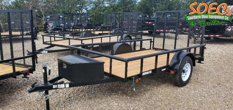 2021 Carry-On 5.5x10 GWPTLEDNT Utility Trailer
