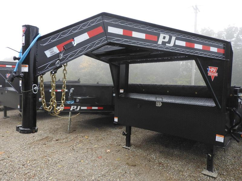 "2021 PJ DL 83""X14' GN Dump Trailer"