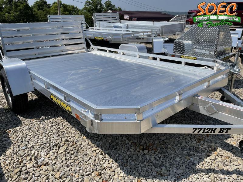 2022 Aluma 7712 HSBT (2990 GWV) Utility Trailer