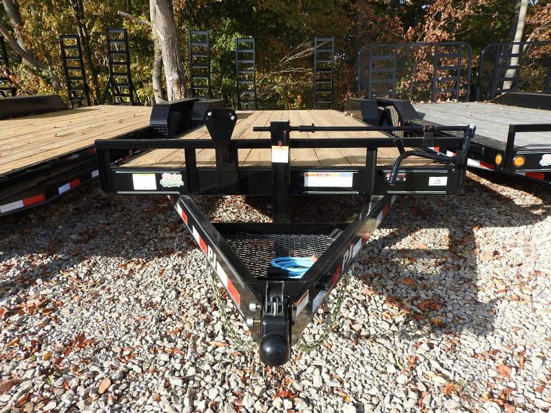 2021 PJ CC 83 x 22' w/ Rubrail Equipment Trailer