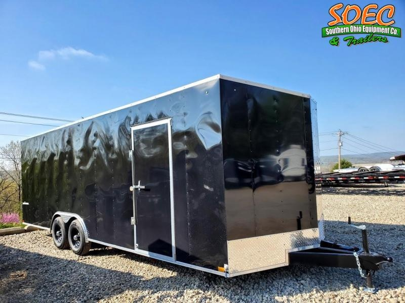 "2021 Formula Traverse 8.5 x 24 w/ 6"" Extra Height Enclosed Cargo Trailer"