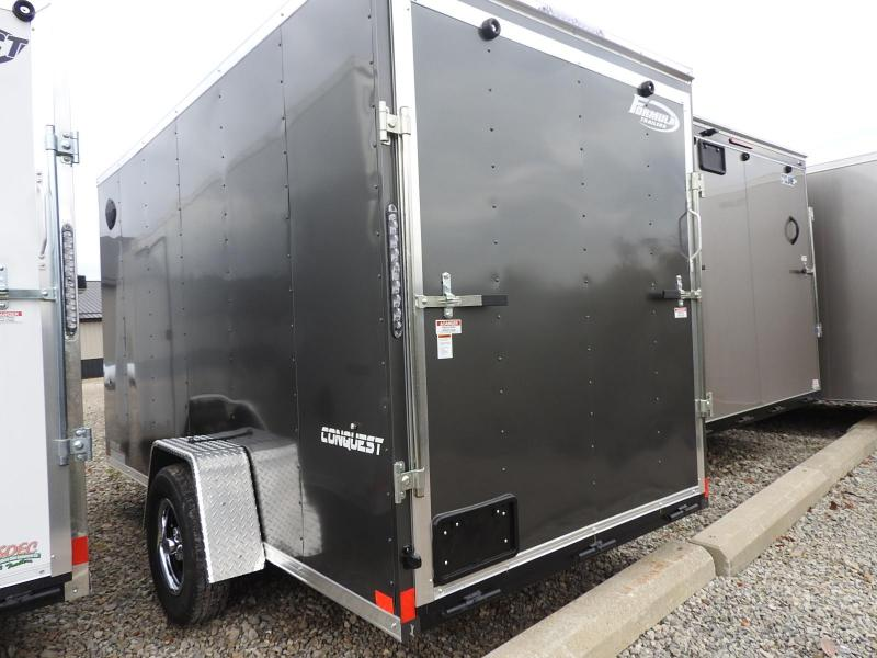 "2021 Formula Trailers Conquest 6x12 6"" Extra Height UTV Enclosed Cargo Trailer"
