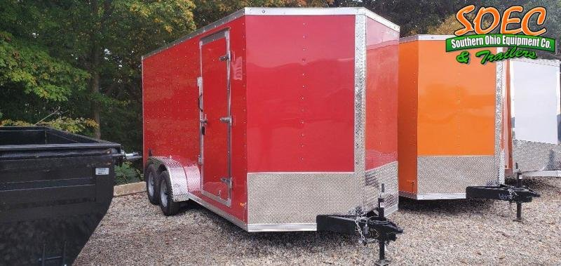 """2022 RC Trailers RDLX 7 x 16 w/ 6"""" Extra Height  Enclosed Cargo Trailer"""