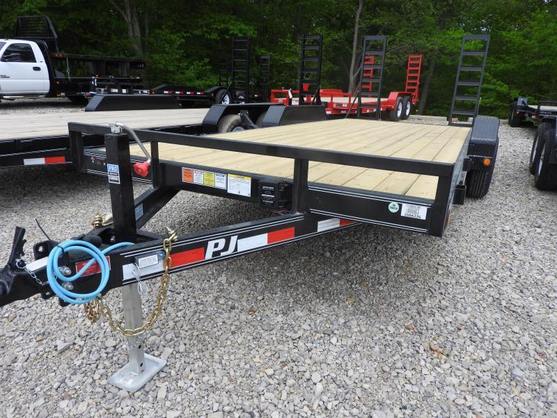2020 PJ CE 20 x 83 Equipment Trailer 9899 GVW