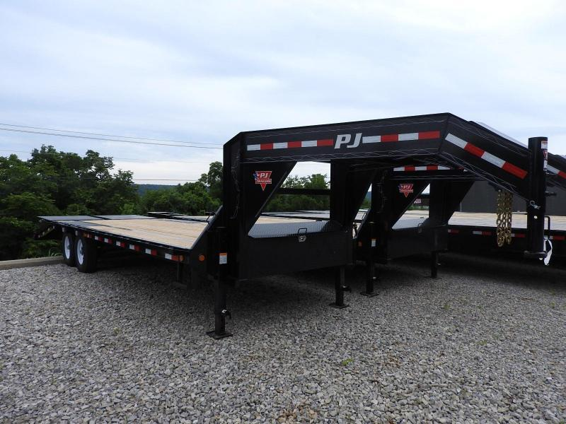 "2020 PJ LS 102"" x 25' w/ Monster Ramps Equipment Trailer"