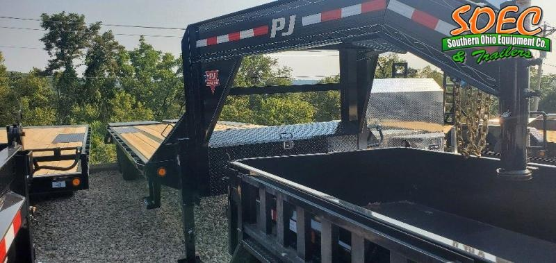 "2022 PJ LS 102"" x 25' w/ Monster Ramps Equipment Trailer"