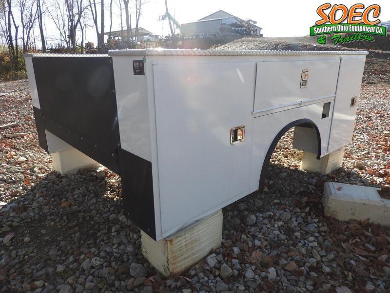 "CM SB 110""/78""  Single Wheel Truck Bed"