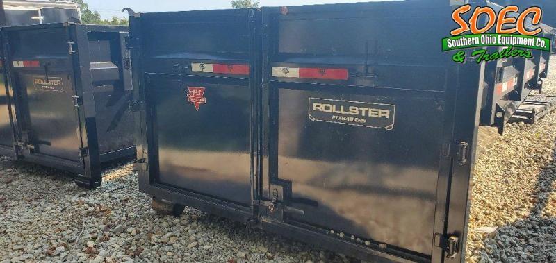2022 PJ Trailers DR Rollster w/ Two Bins Dump Trailer