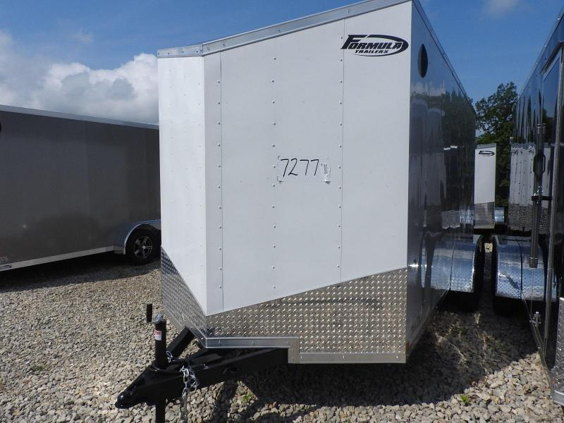 """2021 Formula Trailers Conquest 7x16 12"""" Extra Height Enclosed Cargo Trailer"""
