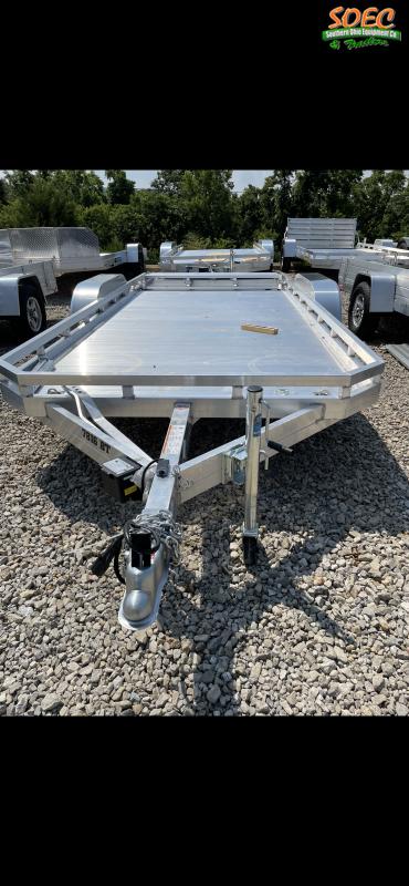 2022 Aluma 7816 BT Utility Trailer (Bi-fold Ramp)