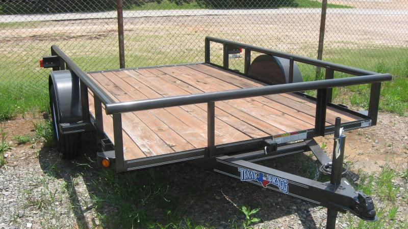 2017 Texas Bragg Trailers 6 x 10 (77 wide) Pipe Top Utility Trailer