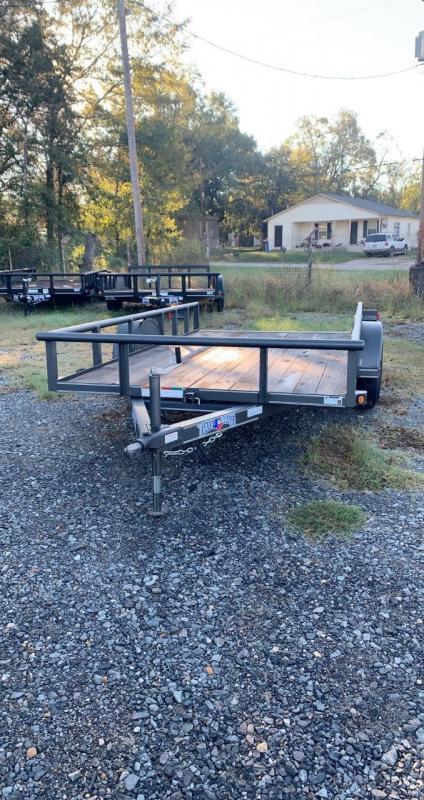 2020 Texas Bragg Trailers Tilt Utility Trailer