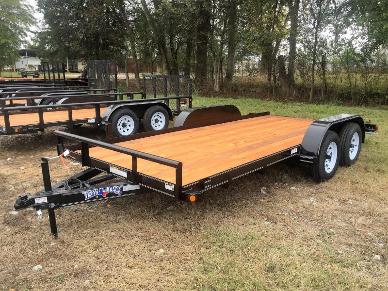 "2017 Texas Bragg Trailers 16' X 102"" Light Car Hauler"