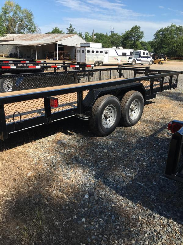 2019 Performance Trailers HP7718 Utility Trailer