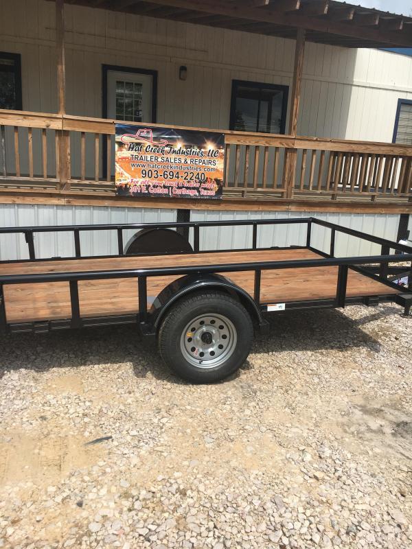 2019 Texas Bragg Trailers NA612P29 Utility Trailer