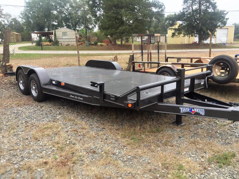 "2017 Texas Bragg Trailers 20' X 102"" Classic Car Hauler"