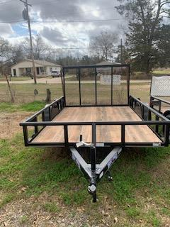 2020 Texas Bragg Trailers Bumper Pull Utility Trailer