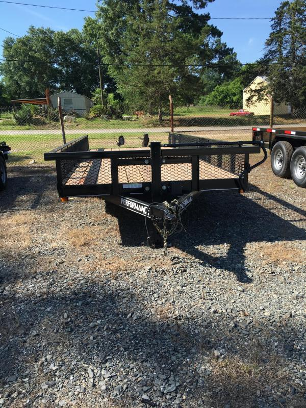 2019 Parker Trailers HP7718 Utility Trailer