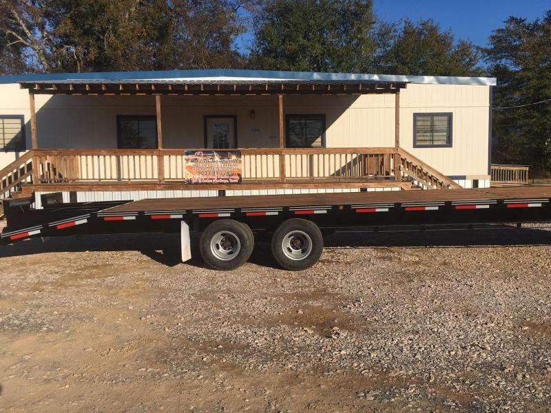 2019 Texas Bragg Trailers ED315TDGN20 Equipment Trailer