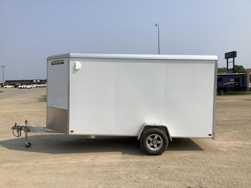 2018 Aluma 6x12 Enclosed Cargo Trailer