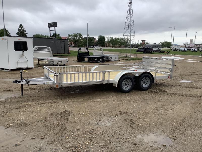 2021 Aluminum  78x16 Utility Trailer