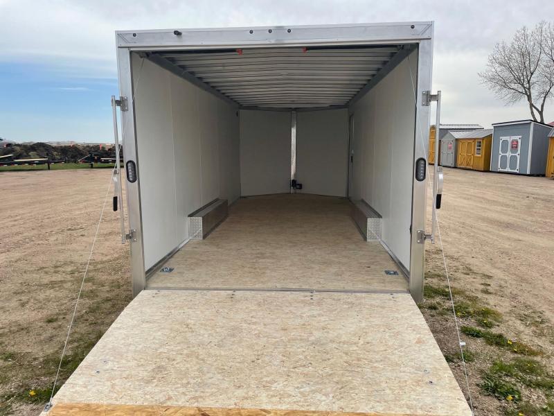 2021 Alcom-Stealth 8.5 X 20 Aluminum Frame Enclosed Cargo Trailer