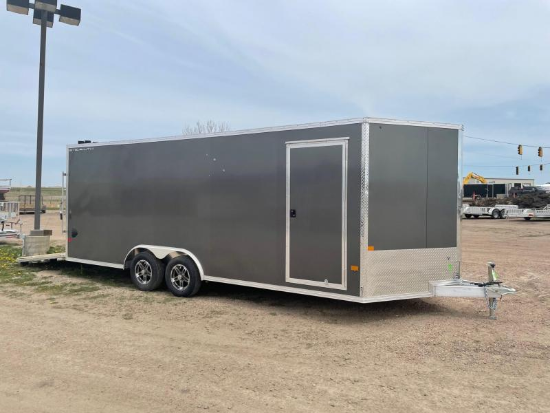 2021 Alcom-Stealth 8.5 X 20 Aluminum Frame Enclosed Cargo Trailer
