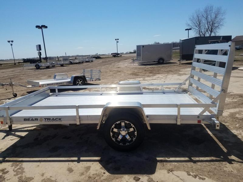 "2021 Bear Track 76""x 12' Aluminum ATV Trailer"