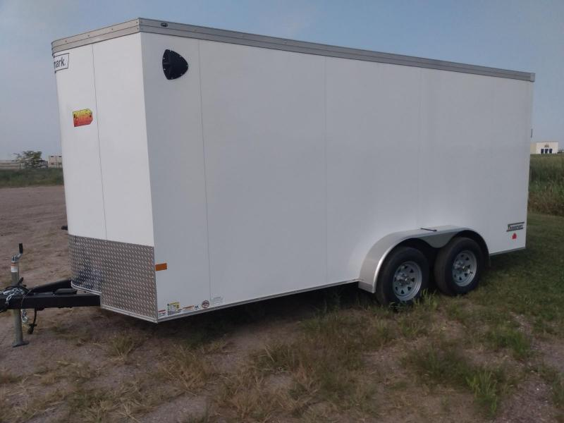2020 Haulmark 7x16x7 Enclosed Cargo Trailer
