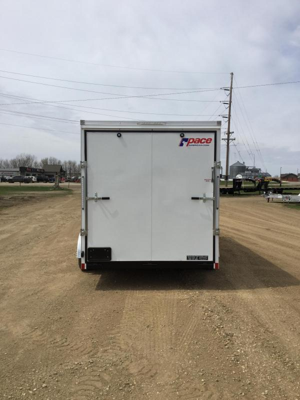2020 Pace American 7x16 Enclosed Cargo Trailer