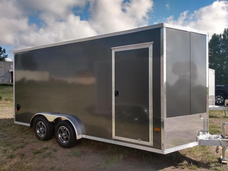 2021 Alcom-Stealth 7.5 x 16 Enclosed Cargo Trailer