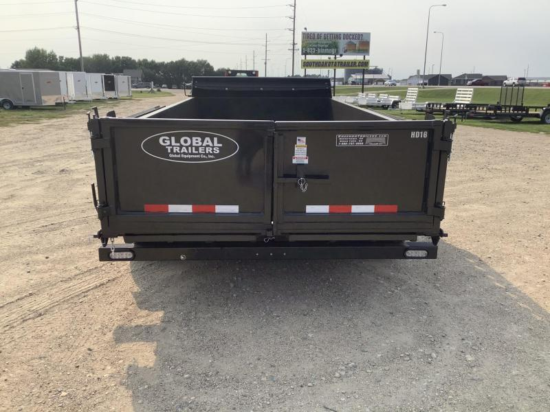 2022 Global Equipment Co. 80x16 Dump Trailer