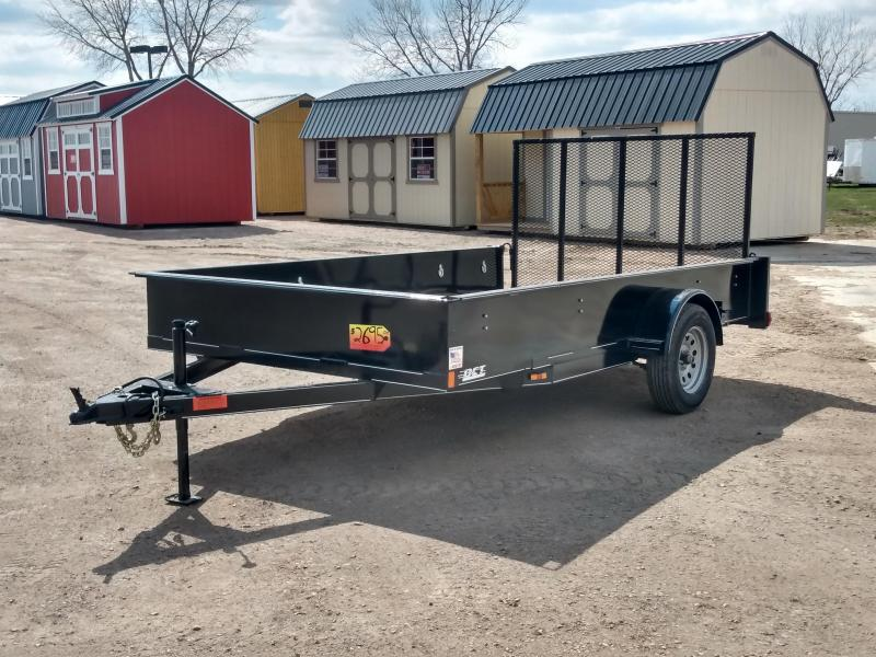 "2021 DCT 83""x12' 17"" Sides Utility Trailer"