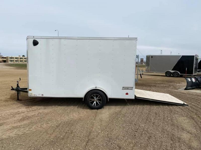 NEW HAULMARK ENCLOSED TRAILER 6X12 ALUM. WHEELS 6'6