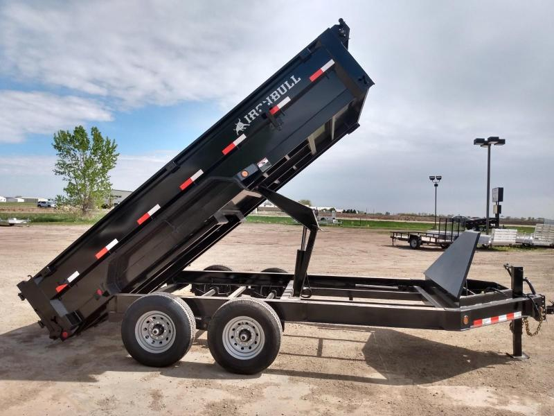 "2020 Iron Bull 83""x14' Industrial Dump Trailer"
