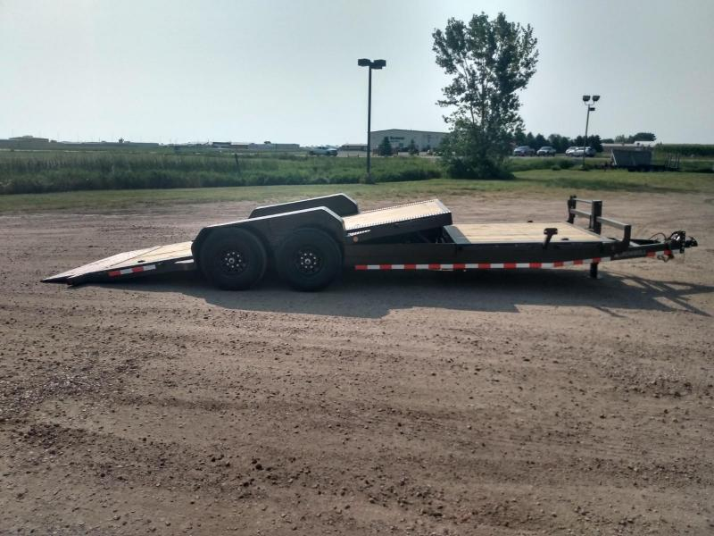 "2021 Iron Bull 83"" X 22' Tiltbed Equipment Trailer"
