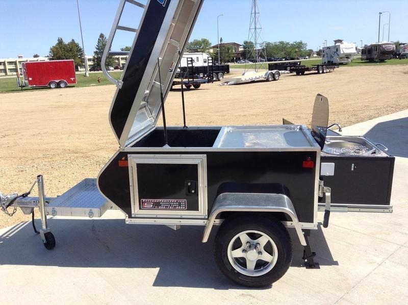 2018 Cargo Pro 3x4 w/ mini kitchen