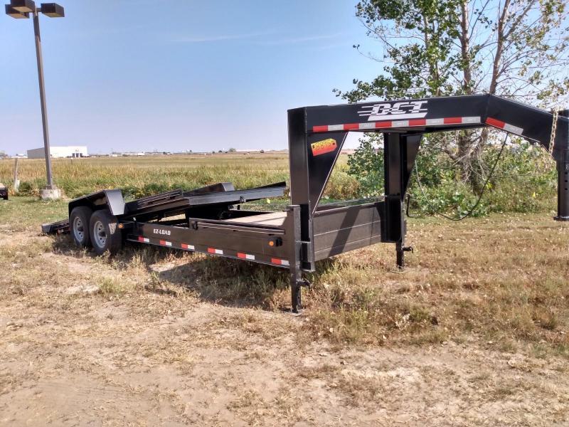 2021 DCT 24' Gooseneck Tiltbed Equipment Trailer