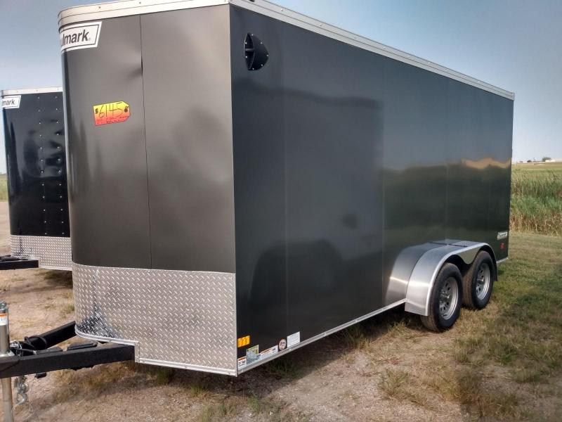 2020 Haulmark 7x16x7 Enclosed Cargo Trailer