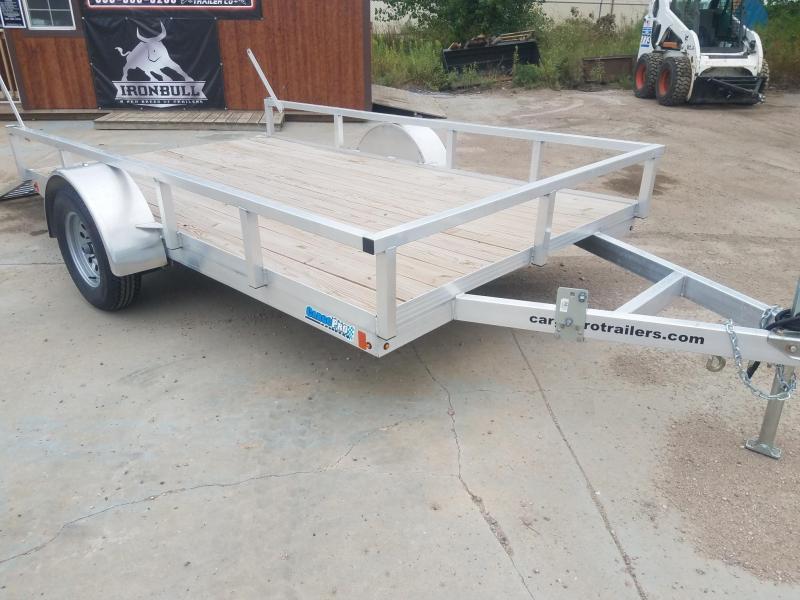 2020 Alcom-Stealth  80x12 Aluminum  ATV Trailer