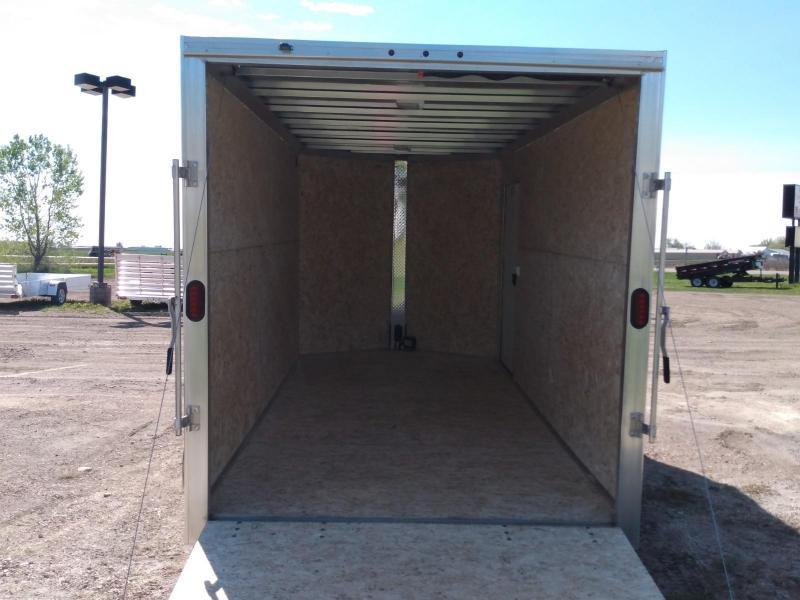 2020 Alcom-Stealth 7 x 14 Enclosed Cargo Trailer