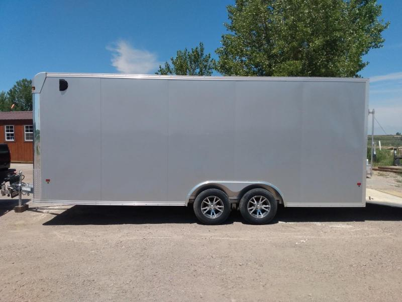 2019 Alcom-Stealth 8x20 Aluminum Frame Enclosed Cargo Trailer
