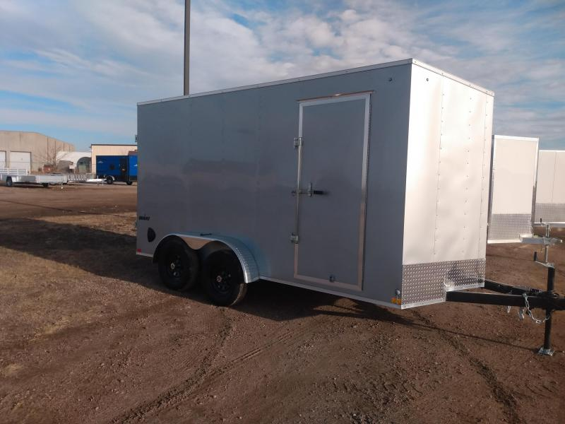 2021 Impact Trailers 7 X 14 Enclosed Cargo Trailer