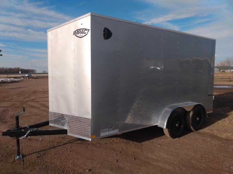 2021 Impact Trailers 7 X 14 Enclosed Cargo Trailer